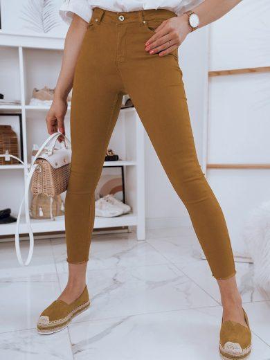 Elastické přiléhavé džíny pro dámy