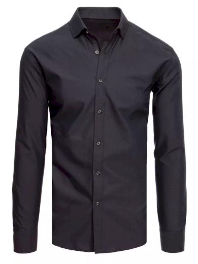 Elegantní pánská košile na knoflíky s klasickým límcem