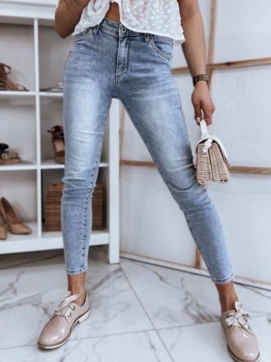Dámské riflové kalhoty džíny JERRY modré Dstreet