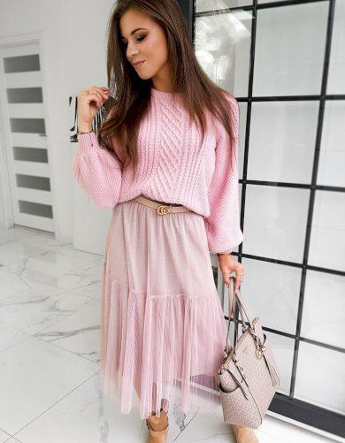 Dámský svetr TULIUM růžový MY0796