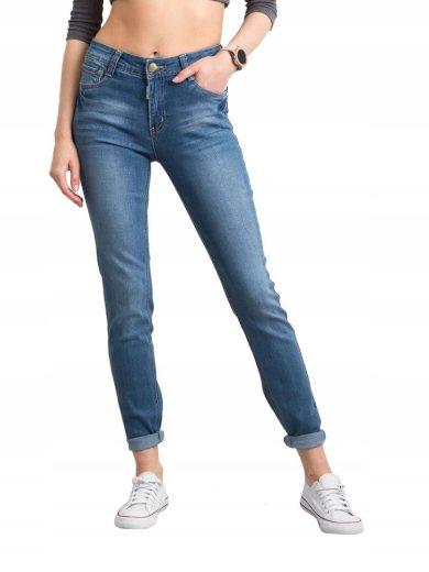 Kalhoty dámské džíny denim džínové kalhoty 7096