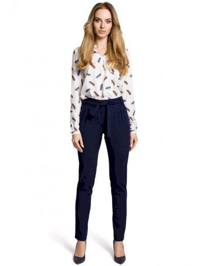 Chino kalhoty s páskem MOE M363