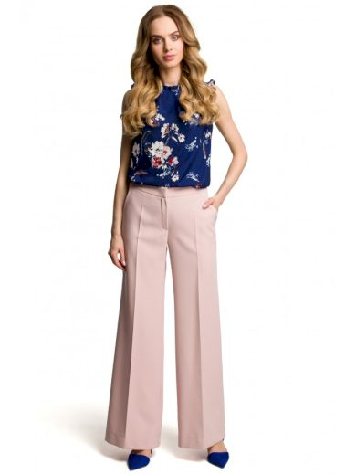 Kalhoty se širokými nohavicemi MOE M378