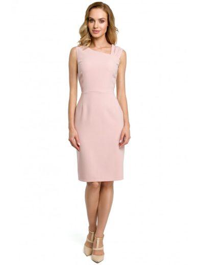 Elegantní tužkové šaty koktejlové MOE M397