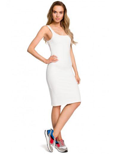 Bodycon letní šaty s popruhy MOE M414