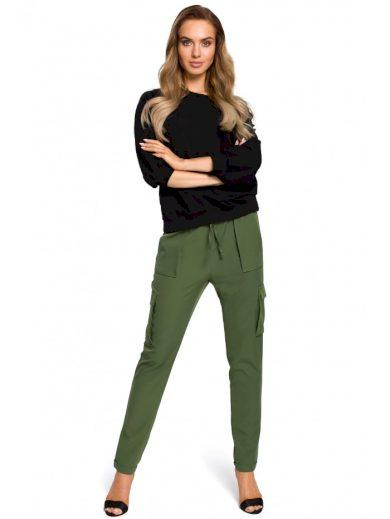 Kalhoty s nakládanými kapsami MOE M425