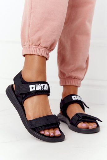 Dámské Sportovní Sandály Big Star HH274A024 Černé