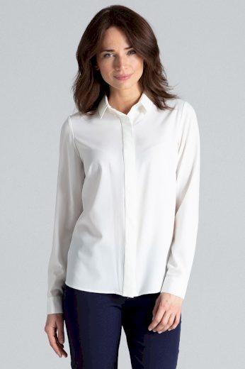 Klasická dámská košile různé barvy a potisky L036 LENITIF