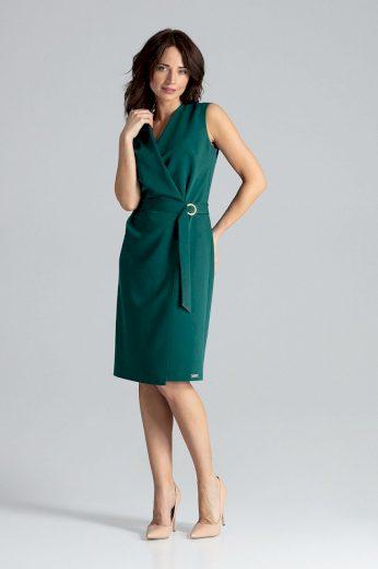 Blejzrové šaty s obálkovým výstřihem L037 LENITIF
