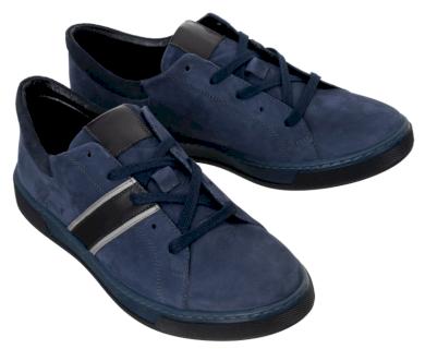 Pánské šněrovací boty z přírodní nubukové kůže