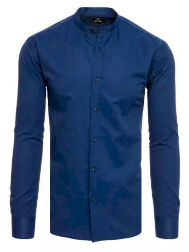 Pánská košile tmavě modrá Dstreet