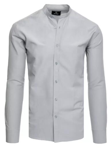 Pánská košile světle šedá Dstreet