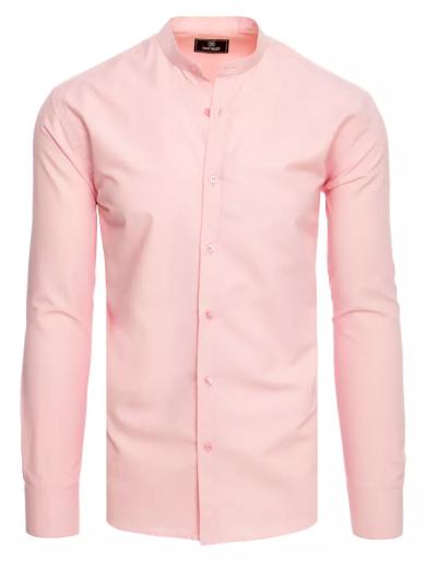 Pánská košile růžová Dstreet