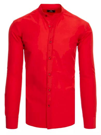 Pánská košile červená Dstreet