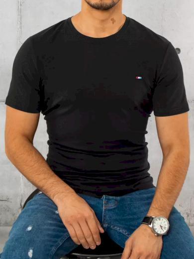 Pánské tričko hladké červené Dstreet