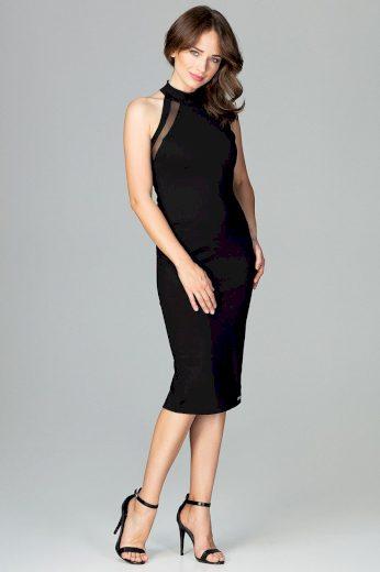 Elegantní pouzdrové šaty K492  LENITIF