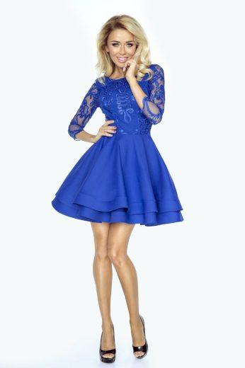 Alisia večerní šaty s krajkou IMESIA