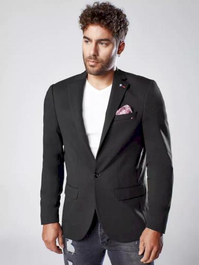 Pánské sako v tmavě modré barvě Dstreet MX0540