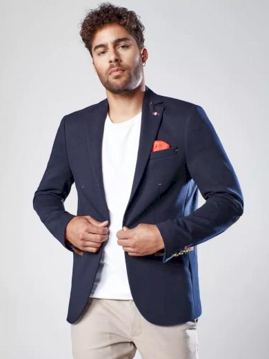 Pánské sako v černé barvě Dstreet MX0527