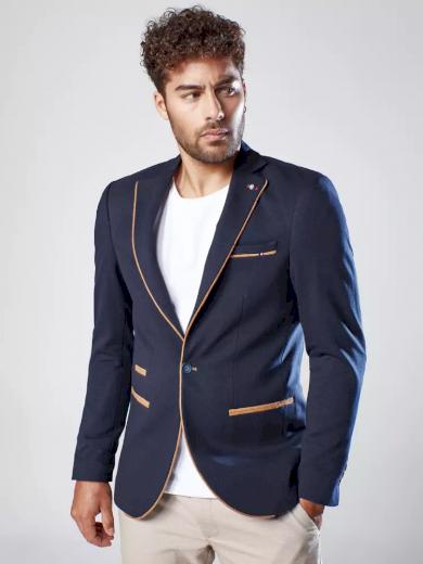 Pánské sako v černé barvě Dstreet MX0544