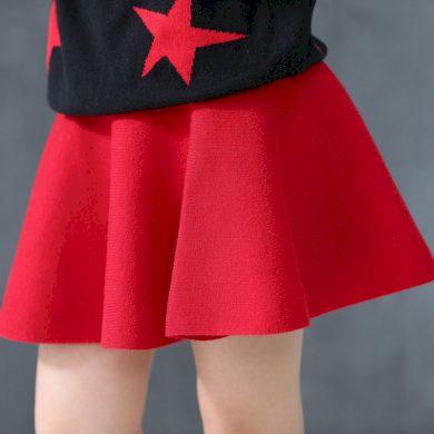 Dívčí sukně s vysokým pasem - 2 barvy FashionEU