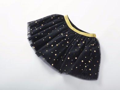 Dívčí sukně s třpytivými hvězdami - 5 barev FashionEU