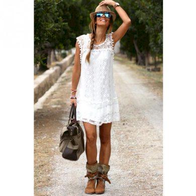 Dámské krajkové šaty - 3 barvy FashionEU