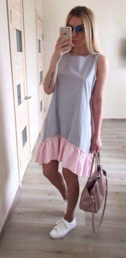Dámské plážové šaty bez rukávů - 2 barvy FashionEU