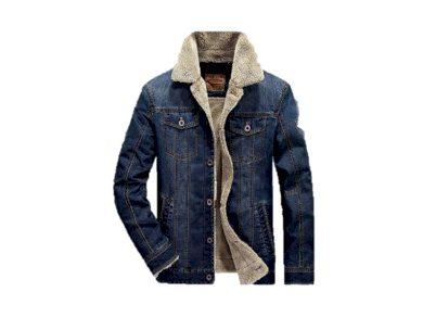 Pánská džínová bunda s kožichem - 2 barvy FashionEU