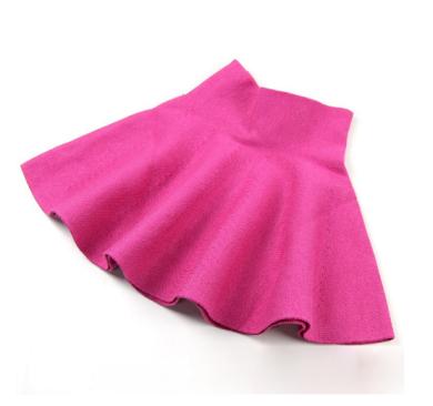 Luxusní dívčí sukně s vysokým pasem - Růžová FashionEU