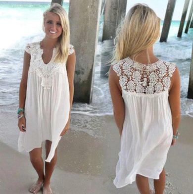 Dámské letní šaty volné FashionEU