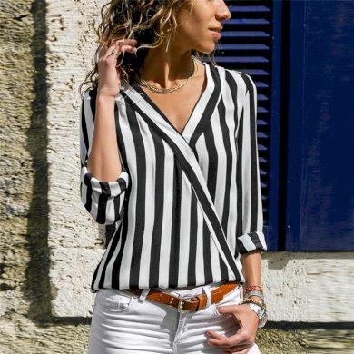 Dámská pruhovaná košile Natalia FashionEU