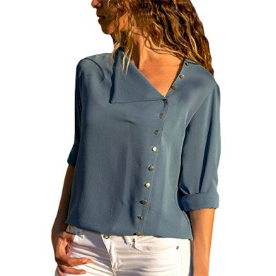 Dámská jednobarevná košile Lara FashionEU