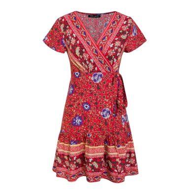 Dámské šaty v Boho stylu FashionEU