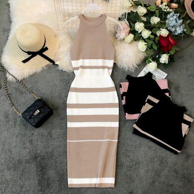 Pouzdrové dámské šaty FashionEU