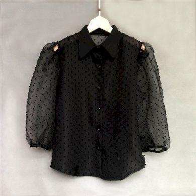 Dámská průsvitná košile FashionEU