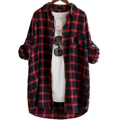Dámská kostkovaná košile Becky FashionEU