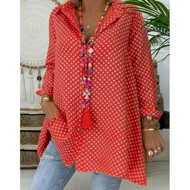 Dámská košile s puntíky Linda FashionEU