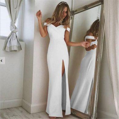 Dámské dlouhé společenské šaty FashionEU