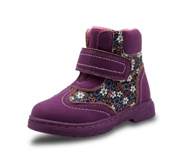 Dívčí kotníkové boty s květy FashionEU
