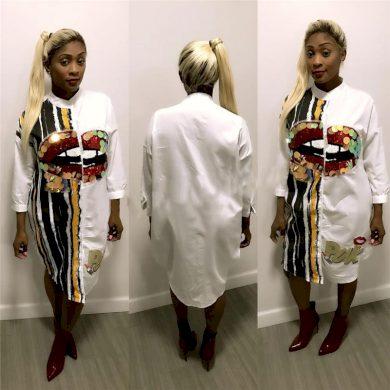 Košilové šaty Melody FashionEU