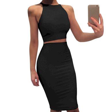 Dvoudílné šaty Clorinda FashionEU