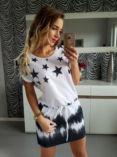 Sportovní šaty s hvězdami FashionEU