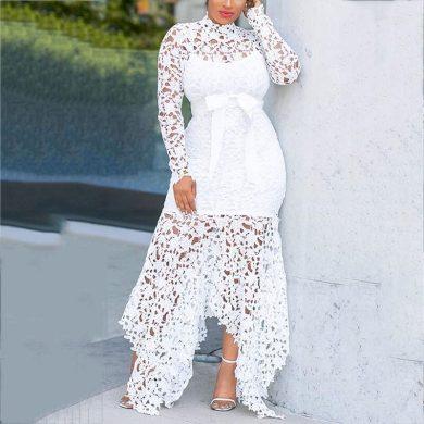 Společenské krajkové šaty FashionEU