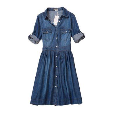 Džínové šaty FashionEU