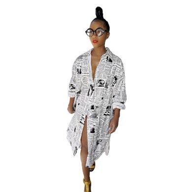 Košilové šaty Lisa FashionEU