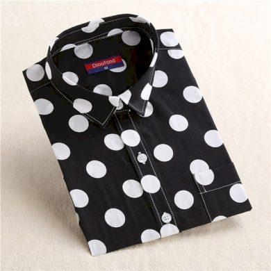 Dámská košile s puntíky FashionEU