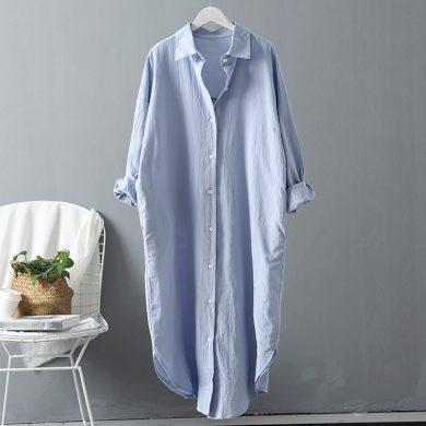 Dámská dlouhá košile Mollie FashionEU