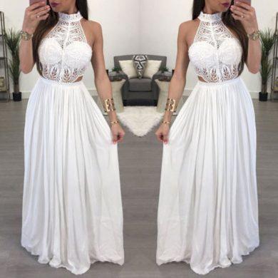 Dlouhé večerní šaty FashionEU