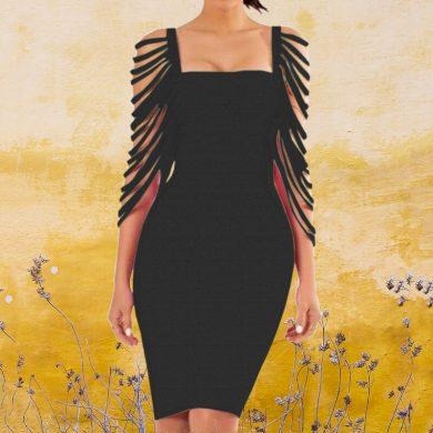 Dámské luxusní šaty FashionEU